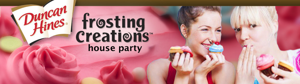Duncan Hines Frosting Creations House Party