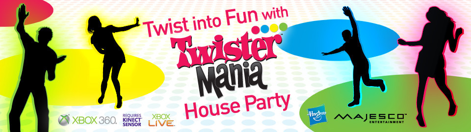 Twist into FUN with Twister™ Mania House Party