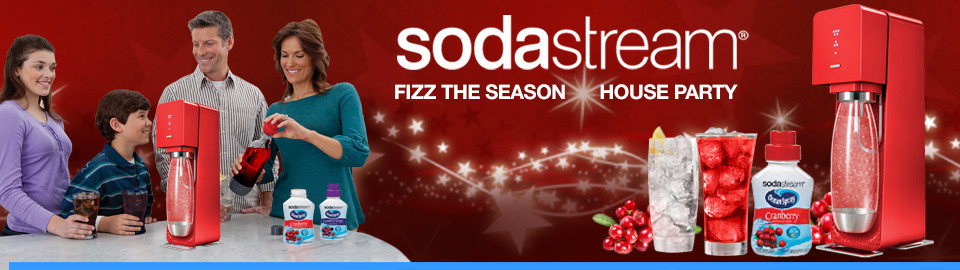 SodaStream® Fizz the Season House Party