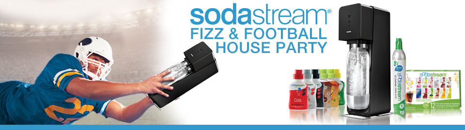 SodaStream® Fizz & Football House Party