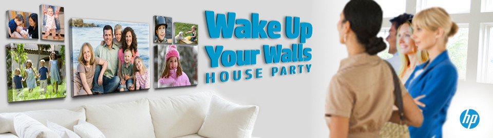 HP Wake Up Your Walls House Party