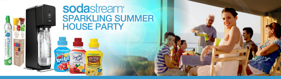 SodaStream Sparkling Summer House Party