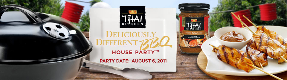 Thai Kitchen Deliciously Different BBQ House Party