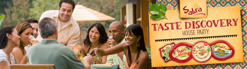 Sabra Taste Discovery House Party