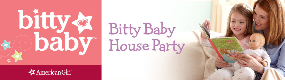 American Girl® Bitty Baby® House Party